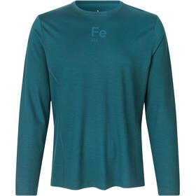 Fe226 Virgin Merino Wool Long Sleeve T-Shirt darkest green